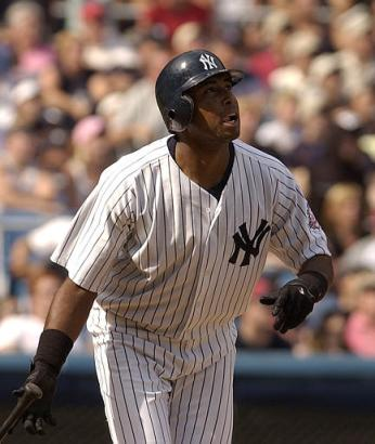 Bernie Williams get his biggest hit of the year in the seventh